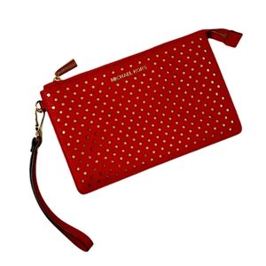 💥NWOT Red Clutch Wristlet💥